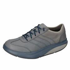 scarpe donna MBT EU 37 sneakers grigio pelle DZ812