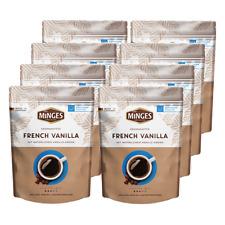 Minges Aroma French Vanilla, 250g gemahlen 8er Pack