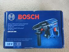 New Bosch GBH18V-20N 18-Volt Cordless Rotary Hammer Drill SDS-Plus Tool Only 18v