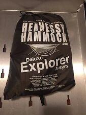 Hennessy Hammocks Explorer De Luxe Motorcycle Camping Hammock tent