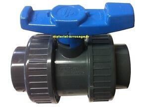 Vanne PVC Ø 63 FF à Coller Pression TECNO PLASTIC- Piscine Arrosage -16BS636300H