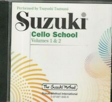 Suzuki Cello School Volumes 1 & 2 Cd Sealed Compact Disc Brand New Tsutsami Rare