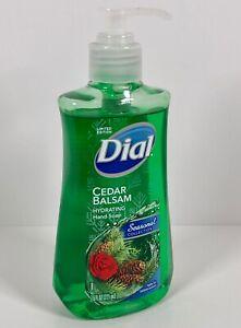 Dial Hydrating Liquid Hand Soap Cedar Balsam 7.5 Fl Oz Seasonal Collection