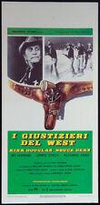 CINEMA-locandina I GIUSTIZIERI DEL WEST douglas, hopkins, stacy, arau
