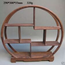 china Oriental Collection Wood Curve Shelf Curios display stand display ark