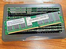 Lot of 3 - SEITEC 512MB DDR 400MHz CL2.5 184DR512M438,SE,BH5L RAM Memory
