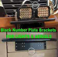 Nissan Patrol GU GQ Y60 Y61 BLACK Number Plate License Light Aerial Brackets ST