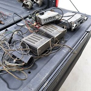 Lot of Vintage Car Stereo Equipment - Pioneer Cassette, Equalizer, Bass, Amp.