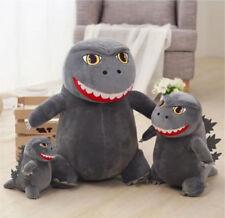 3PC/Set Q version Godzilla Stuffed Plush Doll toys Toho Japan Kids Xmas Gift