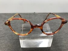 Authentic Persol Eyeglasses Round 56MM 147 52 Light Tortoise Italy O72