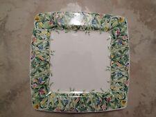 "Italian Ceramics Company Serving Platter ""Canarie"""