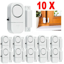 10 X Wireless Home Window Door Burglar Security Alarm System Magnetic Sensor US