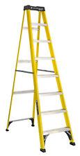 Step Ladder Fiberglass 8-Ft Type 1 Slip-Proof Home Jobsite Workshop Equipment