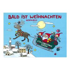 * Weihnachten*Malbuch*Weihnachtsvorfreude*DIN A7 & A5*Grätz-Verlag*