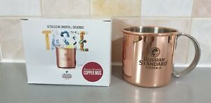 Russian Standard Vodka Copper Mug For Bear Whiskey OR Gifts Collectable Item
