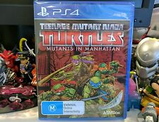 Teenage Mutant Ninja Turtles: Mutants In Manhattan New & Sealed - TMNT PAL PS4