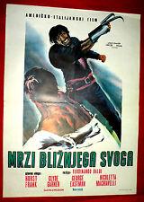 HATE YOUR NEIGHBOR 1968 ITALIAN HORST FRANK CLYDE GARNER BALDI EXYU MOVIE POSTER