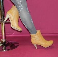 Arizona Stiefeletten mit teilweise durchbrochenem Schaft hellbraun Gr. 42