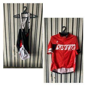 Men's Specialized Racing SL expert pro  jersey +bib shorts size XXL formfit