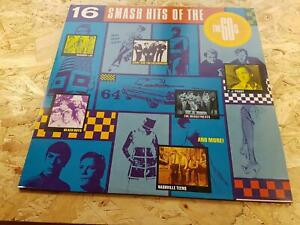 16 SMASH HITS OF THE 60's / VARIOUS 1989 VINYL LP / 60's HITS POP CHART EX++ NM