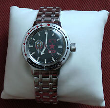 Wrist Amphibian 200m Diver Automatic Mechanical KGB USSR Watch VOSTOK 420457