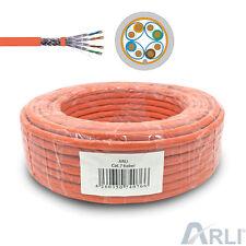 Cat 7 Verlegekabel 100m Netzwerkkabel S/FTP Kabel Halogenfrei Installationskabel
