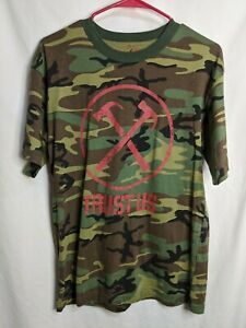Roger Waters  The Wall 2012 Live Tour Trust Us Shirt Rothco  Camouflage size L