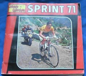 Album Sprint 71   - Panini - 48 p. de vignettes cyclistes - Bon état - cyclisme