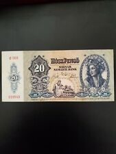 1941 Hungary Bank note 20 Pengo