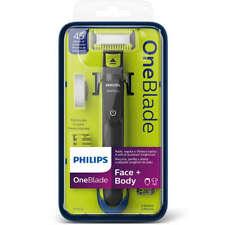 Philips One Blade Visage Barbe Corps Rasoir Oneblade 2 Lames 3 Sabots QP2620/20