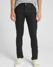 NWT! GAP Kaihara Japanese Selvedge Skinny Fit Jeans GapFlex Rustic Black 31X30