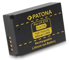 Patona Akku für Canon EOS M, EOS M10, M50, M100, 100D, Rebel SL1 - LP-E12