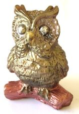 OWL ON A LOG Silicone Soap/Candle Mould Mold, Plaster, Resin, Melt and Pour Soap