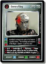 Star Trek CCG 1E - Enhanced First Contact - Gowron of Borg - NM / STCCG