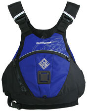 """Blue Stohlquist EDGE Whitewater SUP Life Jacket PFD L/XL fits 40-46"""" chest"""