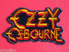 "OZZY OSBOURNE ""PRINCE OF DARKNESS"" SEW/IRON ON PATCH"