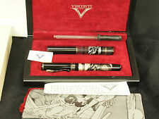 LE 1069 Visconti Erotic Art Giacomo Casanova Fountain Pen w/ Box, Inkpot & Paper