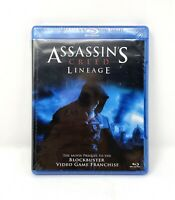 Brand New Assassins Creed: Lineage (Blu-ray Disc, 2011)