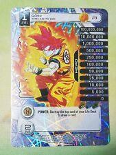 Dragon Ball Z DBZ CCG Tcg Panini Custom Proxy Foil P1 Goku – Super Saiyan God