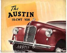 Austin A40 10 cwt 4 Page Van UK Brochure 415/H Price New in Primer £365 !