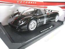 Pagani Zonda F 1/18 Motormax (Black)