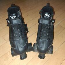 Men's Viper M1 Skates Roller Derby Black Quad Skates Size 9 U721M