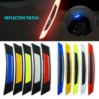 New Reflective Carbon Fiber Auto Car Side Door Edge Protector Guard Sticker