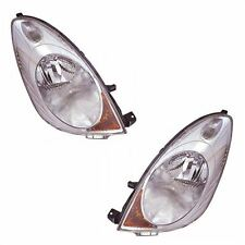 For Nissan Note Mk1 2006-6/2009 Halogen Headlights Headlamps 1 Pair O/S & N/S