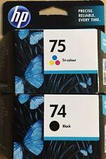 Genuine HP74 & HP75 Ink Cartridges For C4380 C4385 C4480 C4580 C4599 C5280