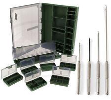 Carp Stainless Baiting Needle Set  7+1 Tackle & Bit Box Hair Rig Storage System