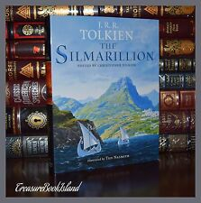 The Silmarillion by J.R.R. Tolkien Illustrated  C. Tolkien New Deluxe Hardcover