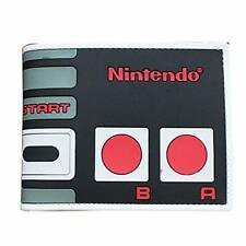NINTENDO 3-D WALLET ~ BLACK/RED/GRAY RUBBER ~ MEN'S BILLFOLD~COLLECTIBLE ~ NEW!