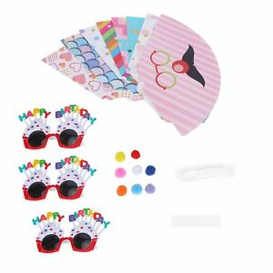 Phote Prop Glasses Foldable Durable Birthday Sunglasses for Studio Props Kids
