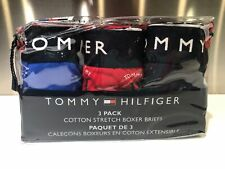 Tommy Hilfiger 3 Pair Pack Stretch Boxer Brief Blue Red Medium XLarge NWT